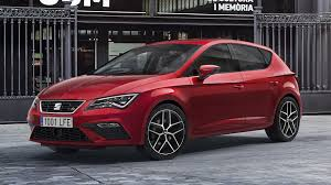 2017 seat leon facelift debuts with subtle design updates new engines