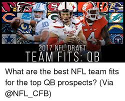 Texas Tech Memes - acc texas tech 2017 nfl draft team fits ob what are the best nfl
