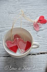 heart shaped tea bags make your own heart shaped tea bags sew a seam