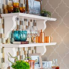 Lowes Wall Shelves by Built In Kitchen Wall Shelf