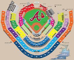 Atlanta Braves Parking Map by 680 The Fan U0027s Atlanta Braves Game Guide 680 The Fan U2013 Wcnn Am