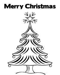 merry christmas tree coloring pages kids printable christmas