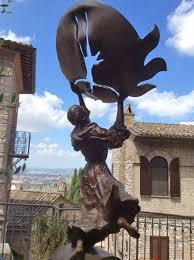 catholic pilgrimages europe assisi sculpture st francis europe european town travel catholic