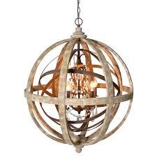 Globes For Chandelier Large Globe Chandelier