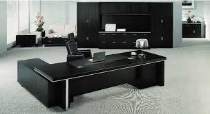 Black Desk Office Black Executive Office Desk Echanting Of Executive With