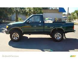 single cab toyota tacoma for sale 2000 toyota tacoma prerunner regular cab in imperial jade green