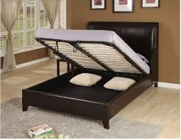 King Size Bed Frame With Storage Underneath Bed Storage King Size Cool Designs King Bed Frame With