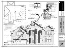 floor plans and elevations of houses jg house sheet 01 front elevation roof plan details