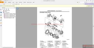hitachi sumitomo crawler crane scx700 shop manual auto repair