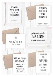 asking bridesmaids cards sweet ways to ask your bridesmaids brilliant bridal