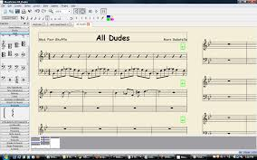 Write Music On Staff Paper Online Lead Sheets In Musescore Musescore