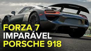 porsche 918 exterior porsche 918 spyder ultrapassa 42 carros forza 7 youtube