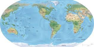 Mercator World Map by Maps World Map America World Map North America Geography Map