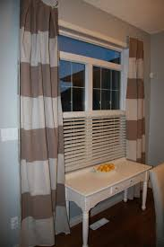 Horizontal Stripe Curtains Navy And White Striped Curtains Curtains Gallery