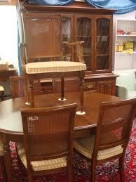 ALLEN Classic Manor Maple Dining Rooms Set - Ethan allen classic manor dining room table