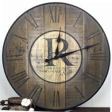 oversized wall clocks as decoration for your home oaksenham com