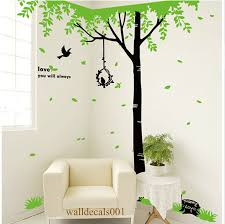 tree wall decal wall stickerbirds decal room decor wall decal