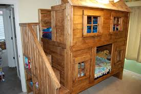 Cabin Bunk Beds Built In Bunk Beds For Cabin Home Design Ideas