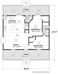 square house floor plans house plan 036 00006 mountain plan 953 square 2 bedrooms