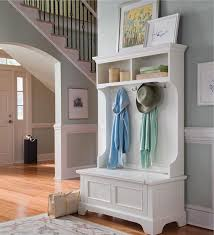 Entryway Bench Coat Rack Naples Hall Stand Entryway Coat Rack And Storage Bench Entryway