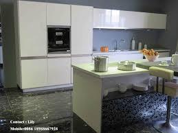 china white high glossy uv kitchen cabinet zh977 photos