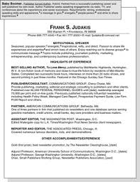 Resume For Communications Job by Sample Resume For A Baby Boomer Dummies