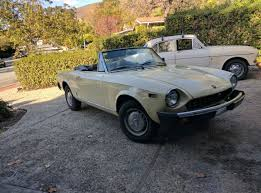 fiat spider 1978 inside lane u0027s 2017 fiat 124