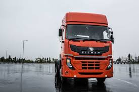 volvo eicher showcases a new series of trucks and buses