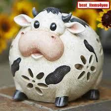 Cow Decor Funny Cow Decoration Porch Lawn Patio Cute Decor Sturdy Garden