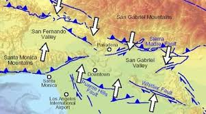 san francisco fault map the san andreas i 15 to i 5 roc doc travel