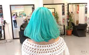 hatsune miku teal available at daisuke salon welcome