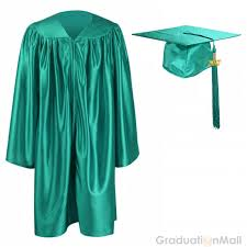 preschool graduation caps preschool graduation cap gown package emerald green
