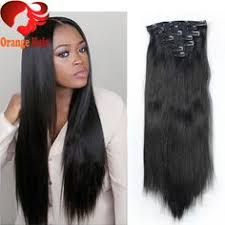 cheap clip in hair extensions clip in human hair extensions wavy malaysian hair clip ins