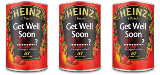 get well soon soup seasonal soup cans with personalized get well soon messages