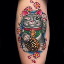 catsparella one eyed cat inspires tribute tattoo on