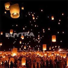 candle balloon online shop diy balloon ufo sky lantern flying wish lantern paper