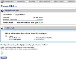 how to modify united award ticket for free points miles u0026 martinis