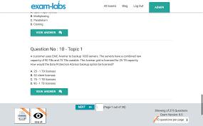 e20 591 emc real exam questions 100 free exam labs