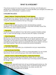 Can A Resume Be 2 Pages What Does A Resume Look Like Resume Templates