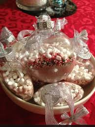 gifts for my christmas party guests cocoa ornaments thank