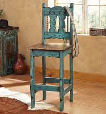 western star home decor turquoise santa fe barstools set of 2