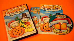 garfield holiday celebrations dvd thanksgiving halloween and