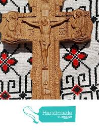 gift tree free shipping cross crucifix durable unique christian gift wood carved religious