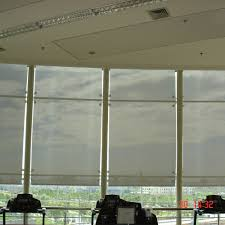 Decorative Window Shades by Outdoor Motorized Shades White Finger