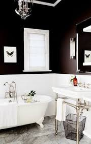 black and white powder room decorpad com approx black tiling on