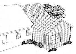Cost Of Adding Basement To Existing House by Master Suite Addition Plans Rear Rendering Image Of New Master
