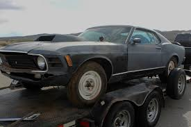 1970 ford mustang mach 1 california desert car salvage cars for