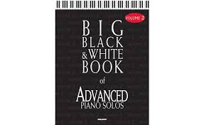 big black white book of advanced piano solos v2