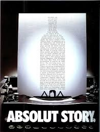 absolut book vodka advertising story qualitative methods