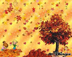 imagenes animadas de otoño imagem de los niños jugando con el otoño 99652503 blingee com